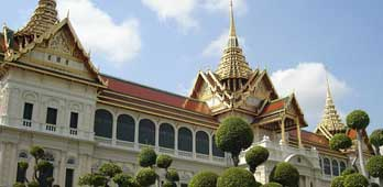 Stunning building in the grand palace