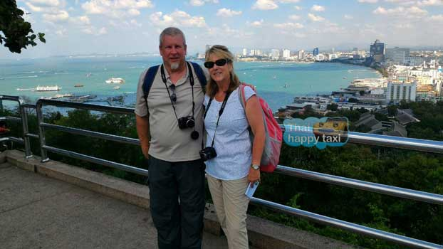The scenic Pattaya Bay